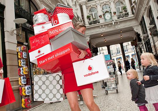 Actiemarketing voor Vodafone