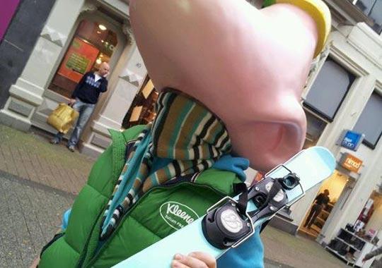 Marketingactie-Nosehead