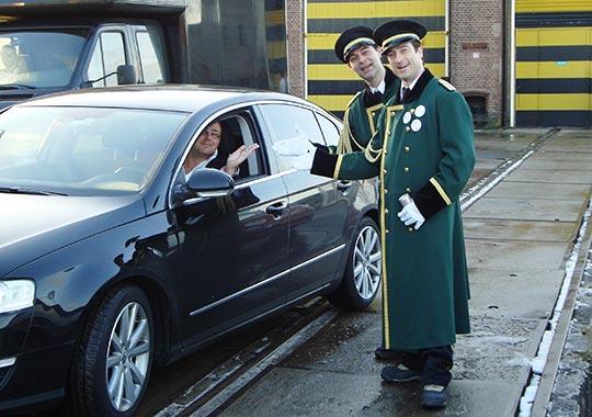 Typetjes - parkeerwachten