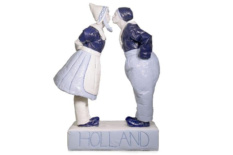 Buitenlandse gasten - Delfts blauw act