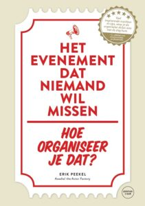 evenement organiseren tips