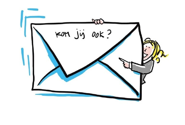Zakelijk evenement tips - uitnodiging