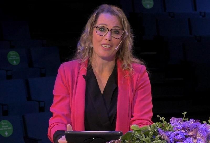 online presentatrice Sophie van Hoytema