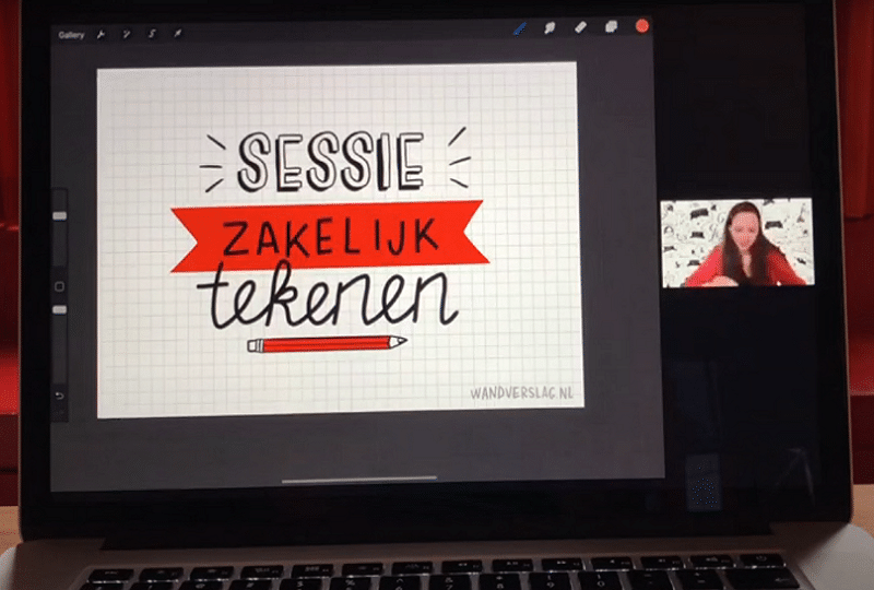 Online workshop tekenen