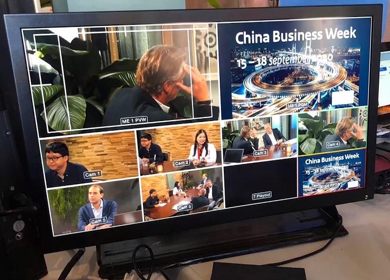 productie online evenement