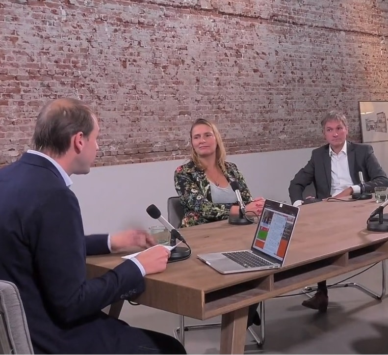 Online talkshow Warmtetransportnet Zuid-Holland